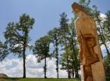 Експонат от скулптурния парк