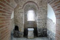 """Олтар на църква """"Възнесение Христово"""" XV век, след реконструкцията"""