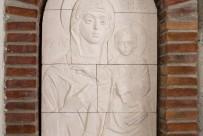 """Керамична икона от църквата """"Възнесение Христово"""""""